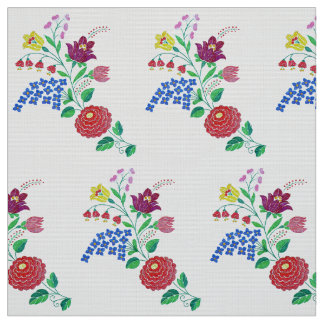 Kalocsa Flowers Fabric