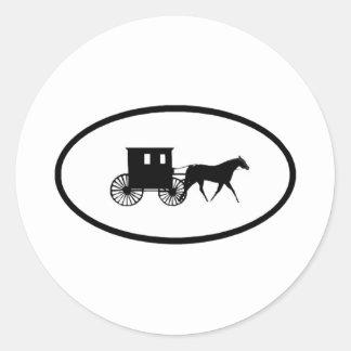 Kalona Kar Classic Round Sticker