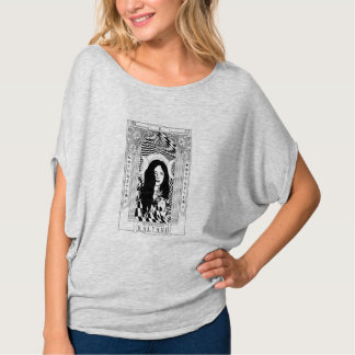 KALYANI Women's/Junior's Oversized Flowy T-Shirt