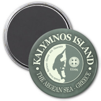 Kalymnos (Climbing) Magnet