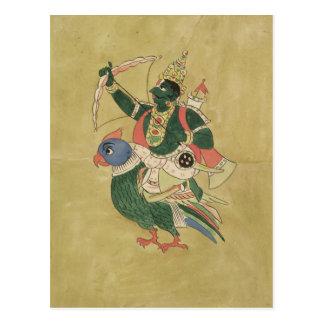 Kama, God of Love, 18th-19th century Postcard