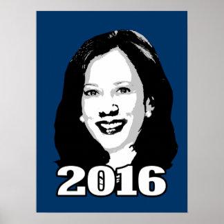 KAMALA HARRIS 2016 Candidate Poster