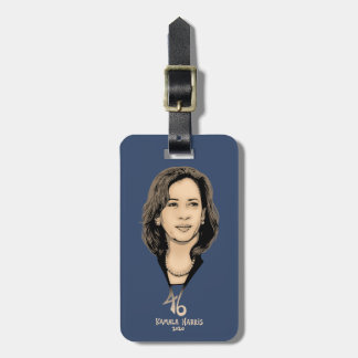 Kamala Harris 46 Luggage Tag