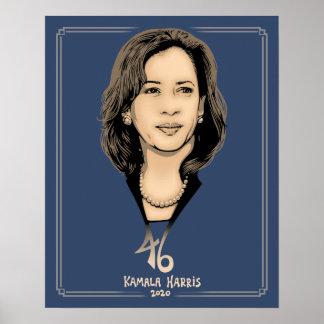 Kamala Harris 46 Poster