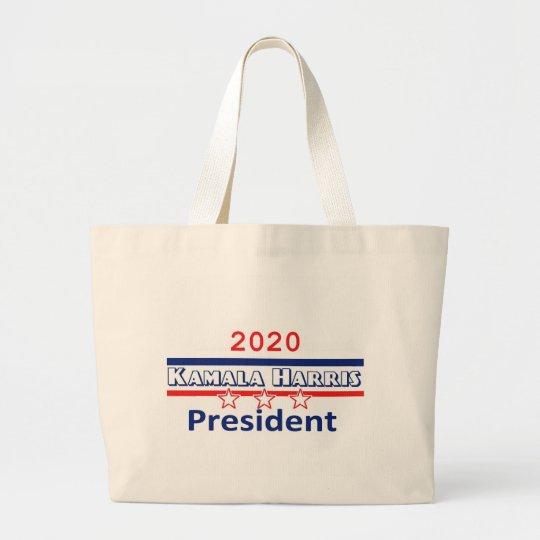 Kamala HARRIS President 2020 Large Tote Bag