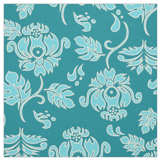 Kamaole Hawaiian Protea Tropical Floral Fabric