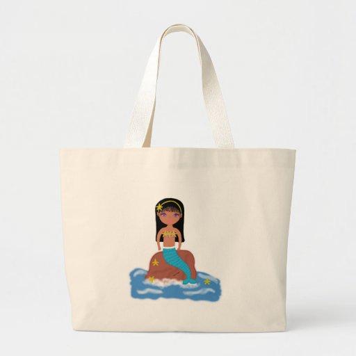 Kamaria the Mermaid Beach Bags