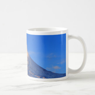 Kamchatka active Klyuchevskoy Volcano at sunrise Coffee Mug