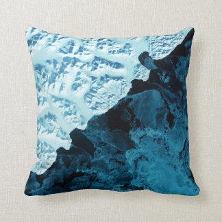 Kamchatka Peninsula Satellite Pillow
