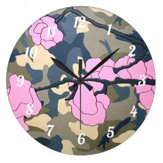 """""""Kamikaze"""" by Axel Bottenberg Large Clock"""