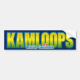 Kamloops Bumper Bumper Sticker