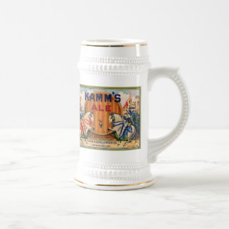 Kamm's Ale Vintage Label Mugs and Steins