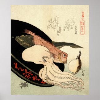 Kanagawa 1824 poster