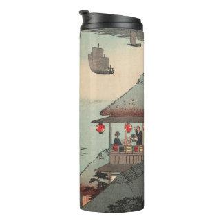 Kanagawa, Japan: Vintage Woodblock Print Thermal Tumbler