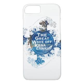 Kanagawa open sea 浪 reverse side iPhone 8/7 case