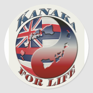 Kanaka For Life Sticker