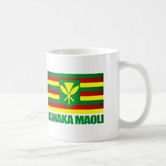 Kanaka Maoli Flag Coffee Mug