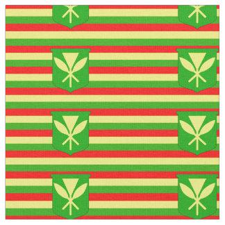 Kanaka Maoli Flag Fabric