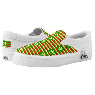 Kanaka Maoli Flag Slip-On Shoes