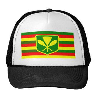 Kanaka Maoli - Native Hawaiian Flag Cap