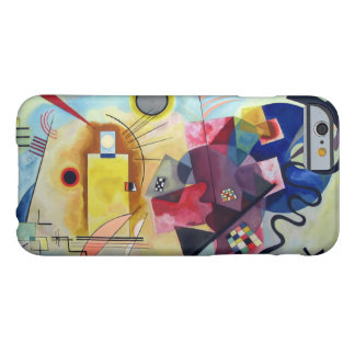 Kandinsky 1925/yellow/red/blue/pixdezines barely there iPhone 6 case