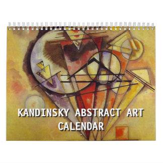 Kandinsky Abstract Art 2018 Calendar
