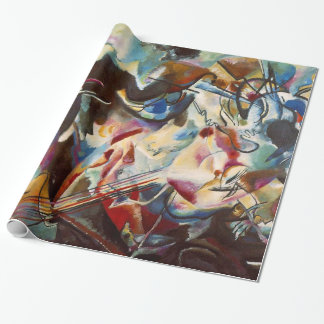 Kandinsky Abstract Art Canvas Painting Wrapping Paper