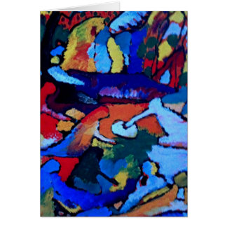 Kandinsky Abstract art Greeting Cards
