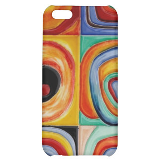 Kandinsky Abstract Art Cover For iPhone 5C