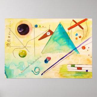 Kandinsky Abstract art Poster