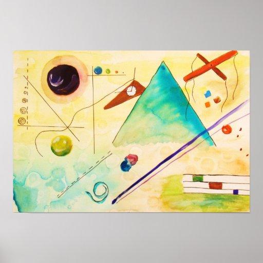 Kandinsky Abstract art Print
