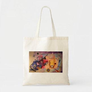 Kandinsky Abstract art Budget Tote Bag
