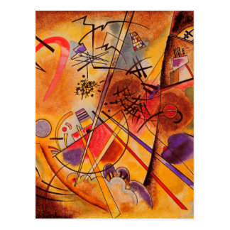 Kandinsky Abstract Artwork Postcard