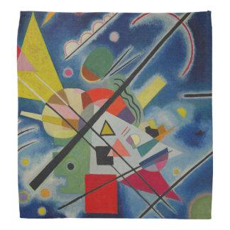 Kandinsky Abstract Painting Blue Bandana