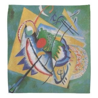 Kandinsky Abstract Painting Red Oval Bandana
