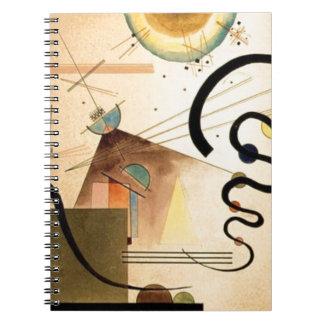 Kandinsky Abstract Spiral Notebook