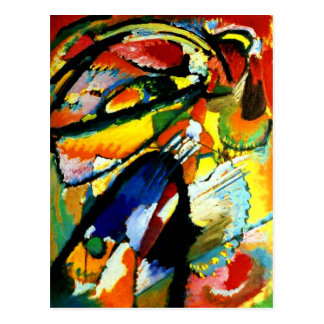 Kandinsky - An Angel of the Last Judgment Postcard