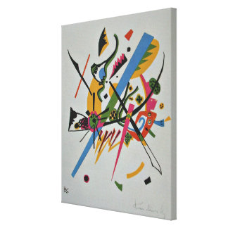 Kandinsky artwork - Small Worlds, 1922 Canvas Print