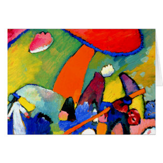 Kandinsky - Beach Scene Card
