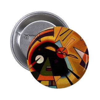 Kandinsky Black and Violet Button