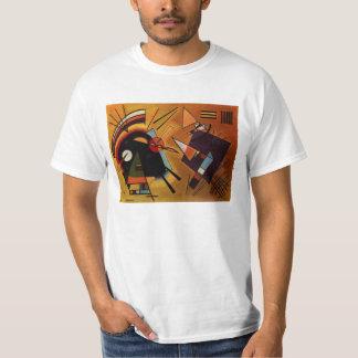 Kandinsky Black and Violet T-shirt