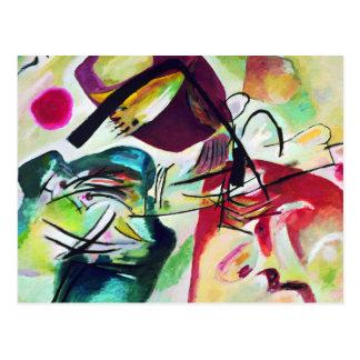 Kandinsky Black Arch Postcard