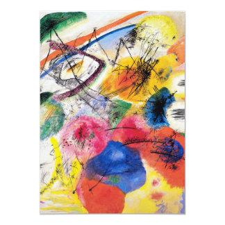 Kandinsky Black Lines Invitations