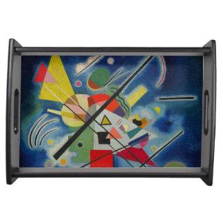 Kandinsky - Blue Painting Food Trays