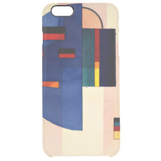Kandinsky - Calmed Clear iPhone 6 Plus Case
