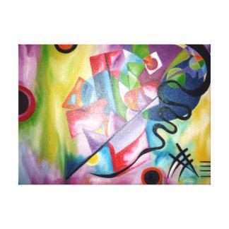 Kandinsky Gallery Wrapped Canvas