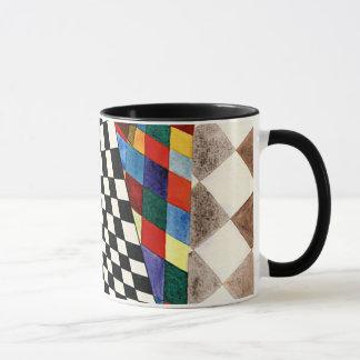 Kandinsky - Checked Mug
