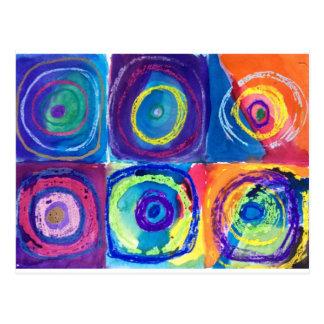 kandinsky circles post cards