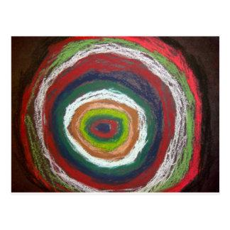 Kandinsky Circles Postcard