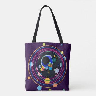 Kandinsky Circles Tote Bag